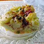 Pistachio Cranberry Bread Pudding