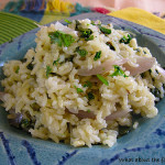 Palak Pulao – Buttery Basmati Rice with Spinach and Onions