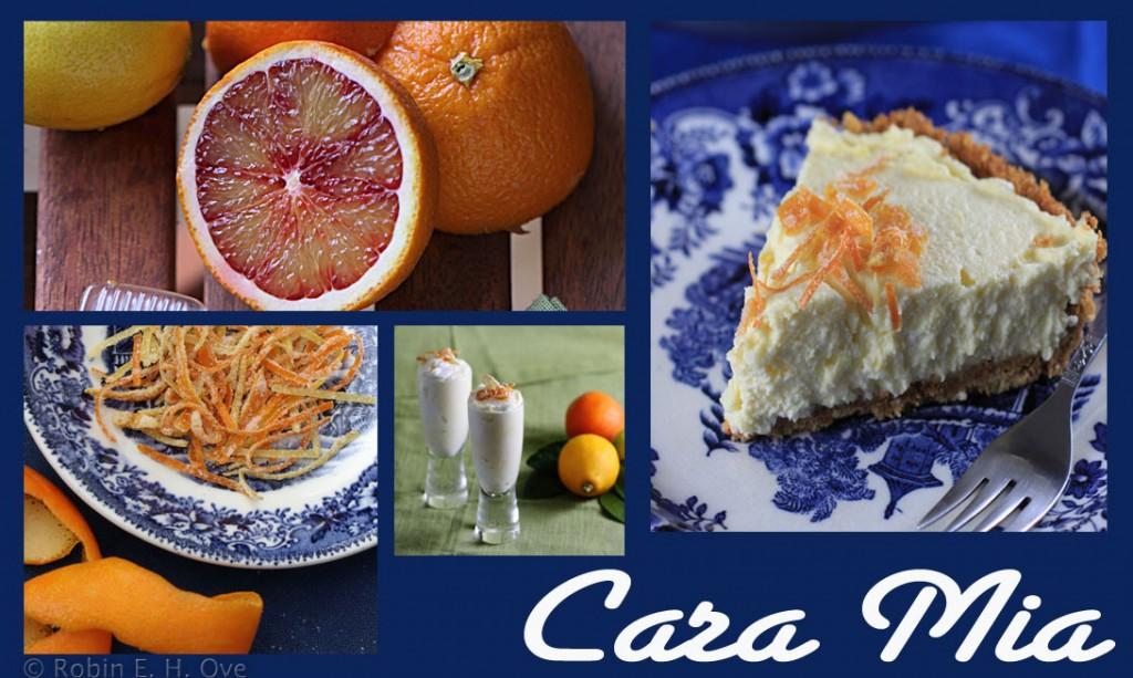 mixed citrus cream pie