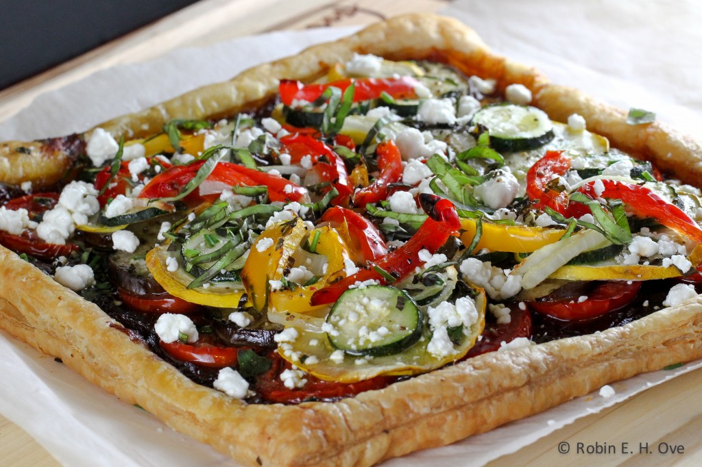 Ratatouille Tart and Crazy Days of Summer - What about the food?