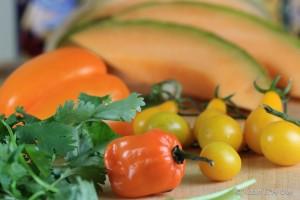 cantaloupe harbanero gazpacho