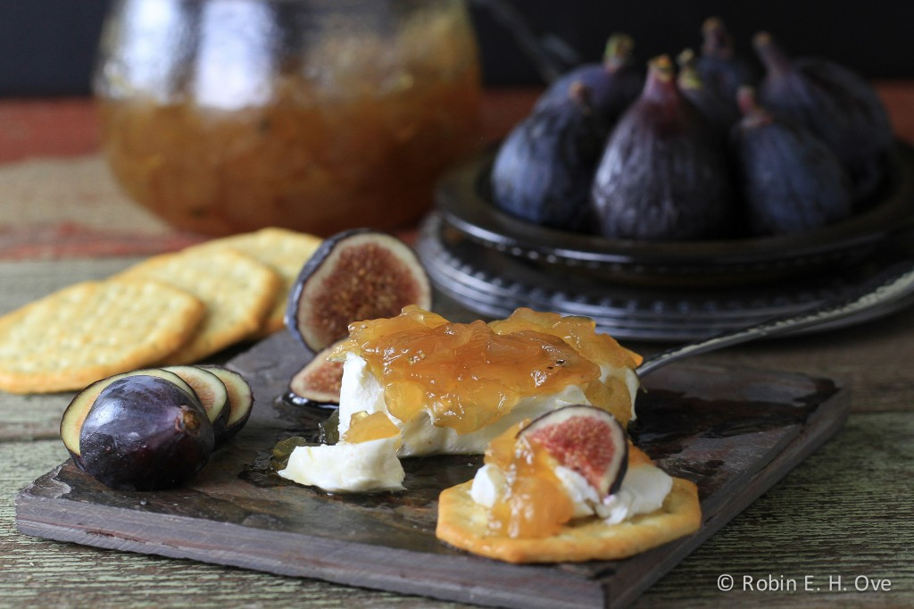 Mission Figs and Caramalized Onion Jam