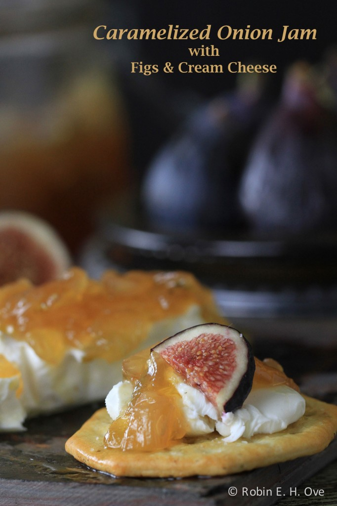 Onion Jam Appetizer with Figs