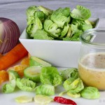 Brussels Sprout Salad with Chile Lime Dressing