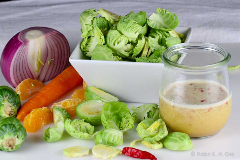 Brussels Sprouts and Vegetables
