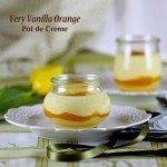 Creamsicle Inspired Pot de Crème
