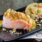 Chinook Salmon with a Tropical Twist