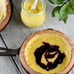 Dutch Babies with Citrus Curd and Blueberries