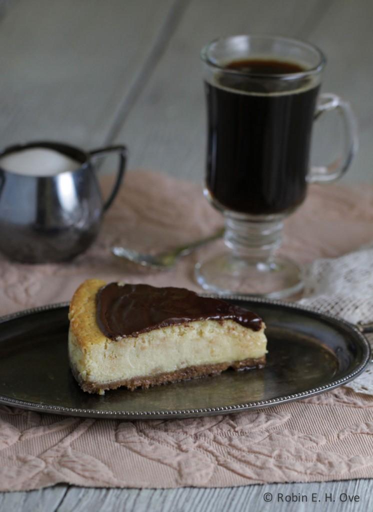 Tiramisu Cheesecake and Coffee