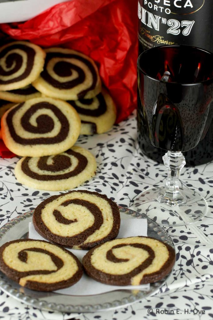 Chocolate Pin-wheel Cookies