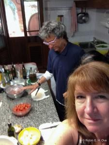Robin Ove with Enrico Casini