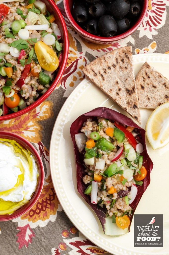 Tomato Bulgur Pilaf Salad