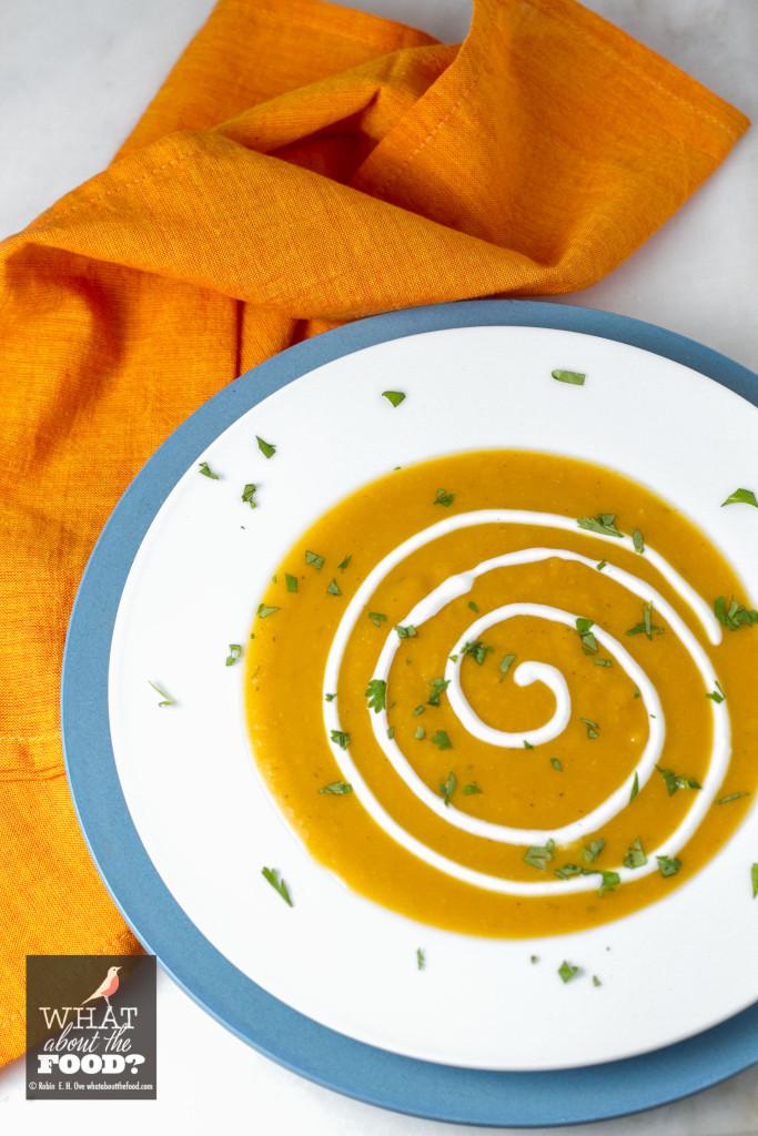 Sri Lankan Curried Butternut Squash Soup