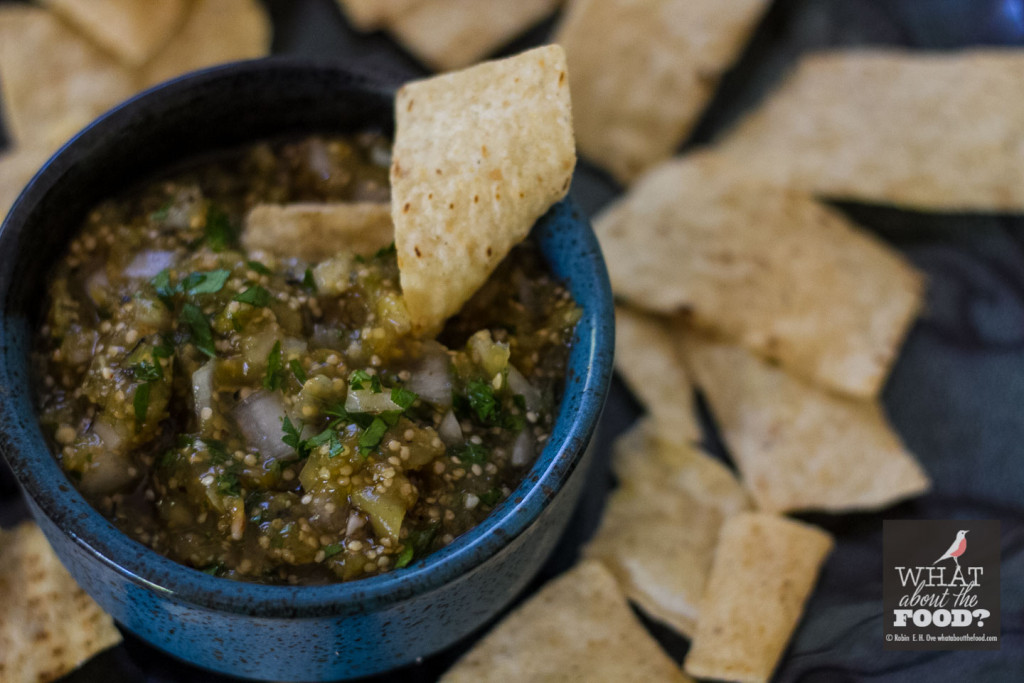 Roasted Tomatillo Salsa - What about the food?