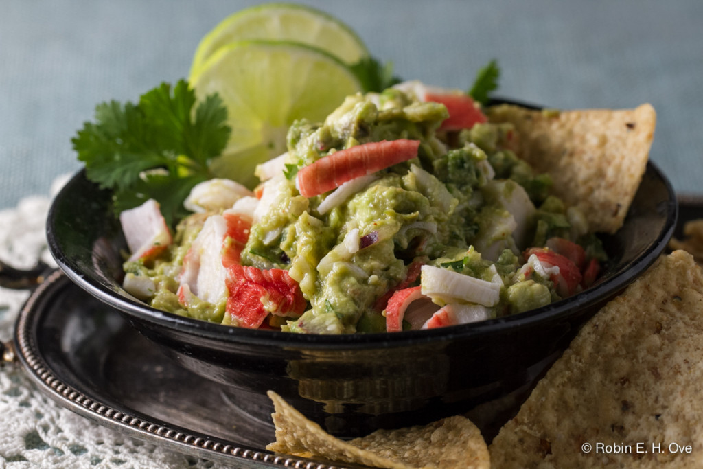 Seafood Guacamole © Robin E. H. Ove All rights reserved