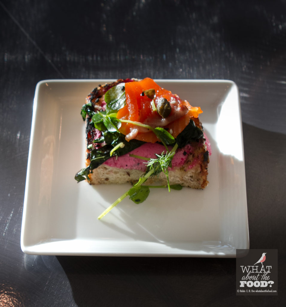 Smoked Salmon Tartine © Robin E. H. Ove All rights reserved