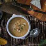 Easy Roasted Cauliflower Soup © Robin E. H. Ove All rights reserved