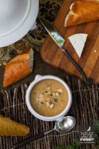 Fall Picnic, Roasted Cauliflower Soup © Robin E. H. Ove All rights reserved
