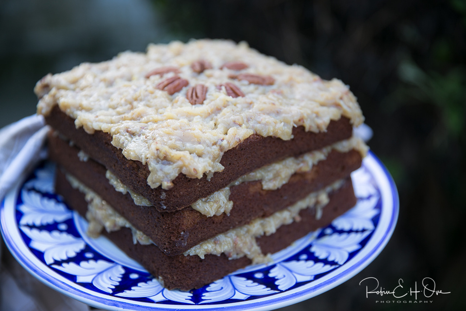 German's Chocolate Cake © Robin E. H. Ove All rights Reserved
