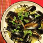 Kaspar's Curry Mussels – Modified