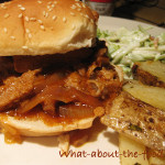 Pulled Pork Sandwiches – Last of the Roast