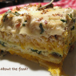 Butternut Squash and Spinach Ricotta Lasagna