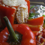 Tunisian Stuffed Peppers