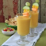 I'll take the heat — Cantaloupe-Harbanero Gazpacho