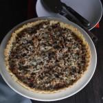 Chanterelles Mushroom Tart