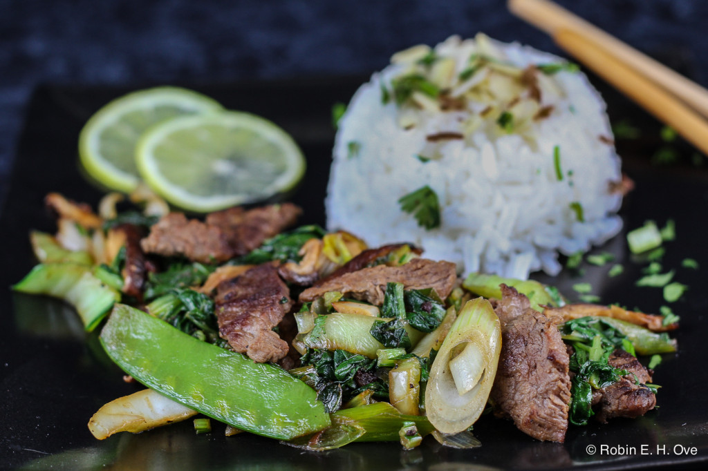 Flank Steak Stirfry