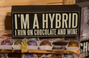 Chocolate sign image © Robin E. H. Ove All rights reserved