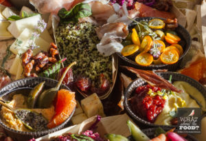 Vegetables and Spreads © Robin E. H. Ove All rights reserved
