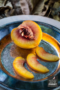 Sliced Peaches © Robin E. H. Ove All rights reserved
