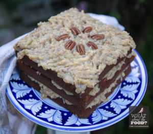 German's Sweet Chocolate Cake © Robin E. H. Ove All rights Reserved